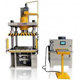 hydraulic deep drawing machine
